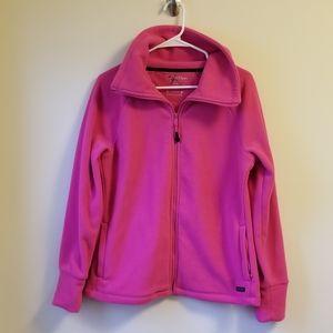 Pink Calvin Klein Performance Fleece Jacket
